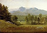Sanford Robinson Gifford Sketch of Mount Chocorua, New Hampshire painting