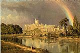 Sanford Robinson Gifford Study of Windsor Castle painting