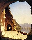 lake como Paintings - The Galleries of the Stelvio, Lake Como