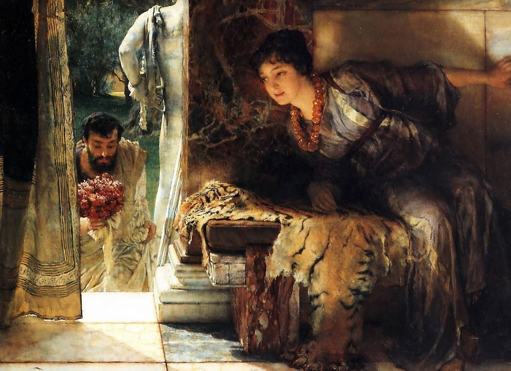 Lawrence Alma-Tadema - Page 2 Welcome%20Footsteps