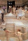 Sir Lawrence Alma-Tadema A Favourite Custom painting