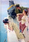 Sir Lawrence Alma-Tadema A coign of vantage painting