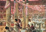 Sir Lawrence Alma-Tadema Caracalla and Geta painting