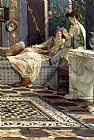 Sir Lawrence Alma-Tadema From An Absent One painting