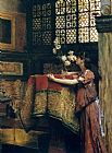 Sir Lawrence Alma-Tadema In My Studio painting