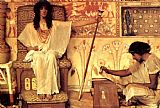 Sir Lawrence Alma-Tadema Joseph Overseer of the Pharoahs Granaries painting