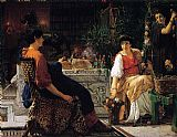 Sir Lawrence Alma-Tadema Preparations for the Festivities painting