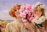 Sir Lawrence Alma-Tadema Summer Offering painting