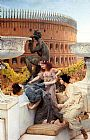 Sir Lawrence Alma-Tadema The Coliseum painting