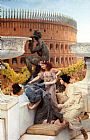 Sir Lawrence Alma-Tadema The Colosseum painting