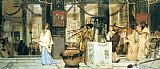 Sir Lawrence Alma-Tadema The Vintage Festival painting