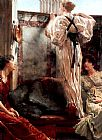 Sir Lawrence Alma-Tadema Who is it painting
