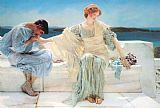 Sir Lawrence Alma-Tadema ask me no more painting