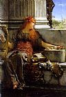 Sir Lawrence Alma-Tadema poetry painting