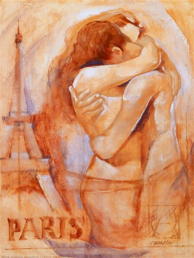 Talantbek Chekirov Embrace in Paris