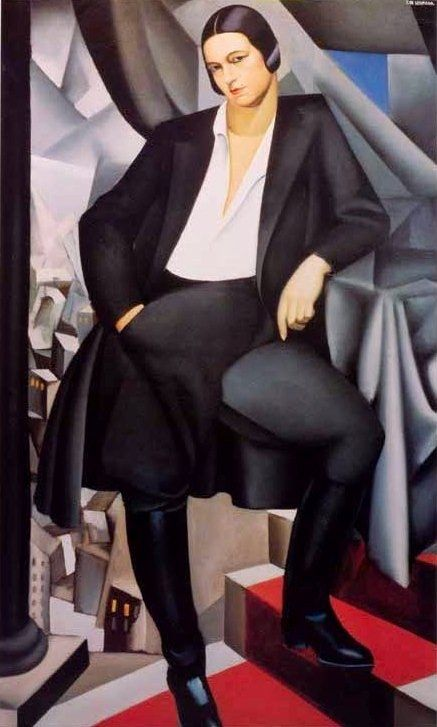 Tamara de Lempicka Portrait of the Duchess de La Salle