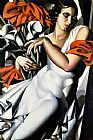 Tamara de Lempicka Portrait of Ira painting
