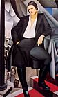 Tamara de Lempicka Portrait of the Duchess de La Salle painting