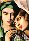 Tamara de Lempicka The Green Turban painting