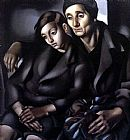 Tamara de Lempicka The Refugees painting