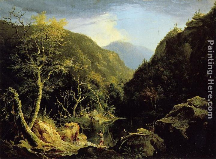 Thomas Cole Autumn in the Catskills