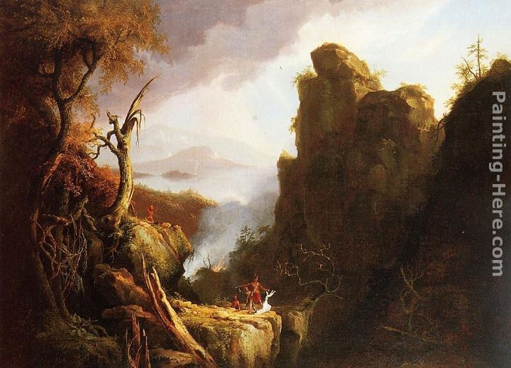 Thomas Cole Indian Sacrifice