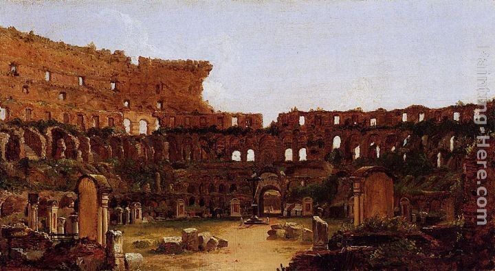 Thomas Cole Interior of the Colosseum, Rome