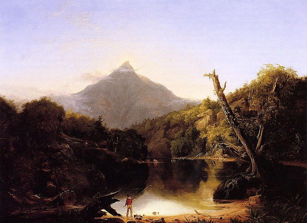 Thomas Cole Mount Chocorua New Hampshire