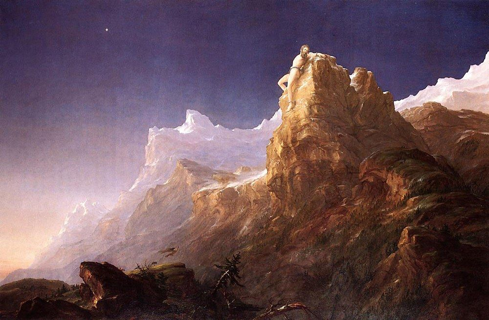 Thomas Cole Prometheus Bound