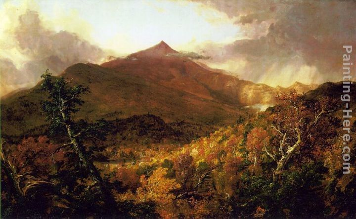 Thomas Cole Schroon Mountain, Adirondacks