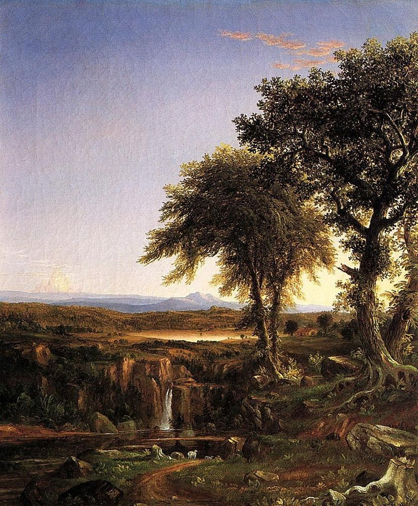 Thomas Cole Summer Twilight