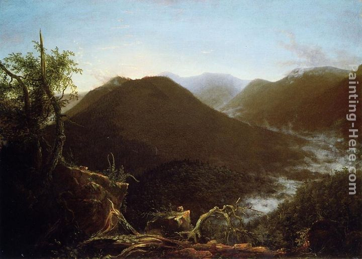 Thomas Cole Sunrise in the Catskill Mountains
