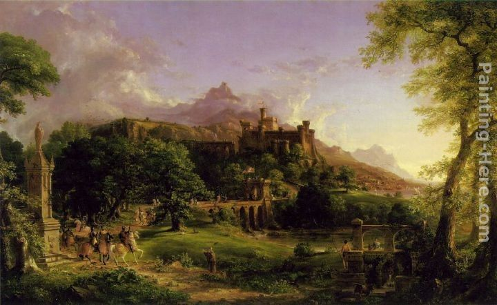 Thomas Cole The Departure