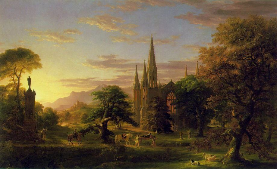 Thomas Cole The Return