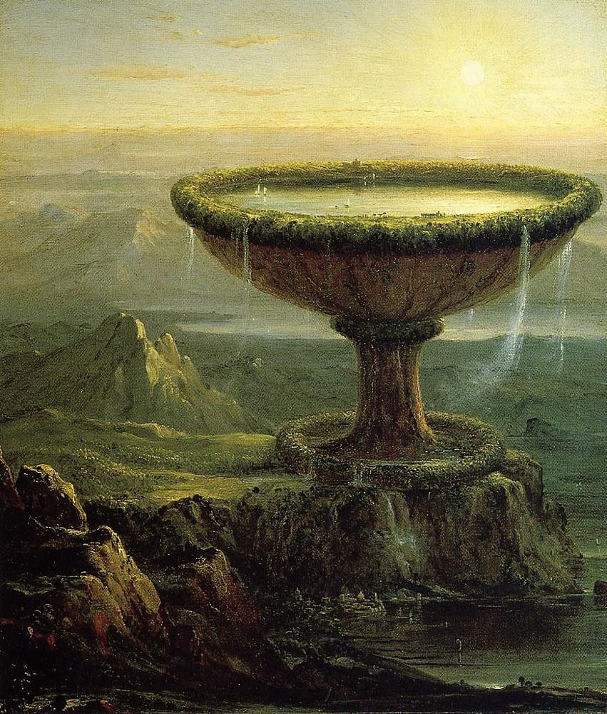 Thomas Cole The Titans Goblet