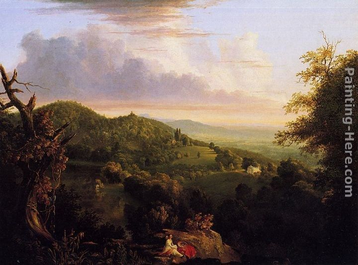 Thomas Cole View of Monte Video, Seat of Daniel Wadsworth, Esq.