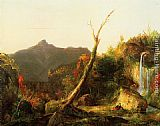 Thomas Cole Autumn Landscape Mount Chocorua painting