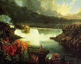 Thomas Cole Niagara Falls painting