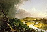 Thomas Cole The Oxbow (The Connecticut River near Northampton) painting