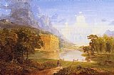 Thomas Cole The Pilgrim of the World on His Journey painting
