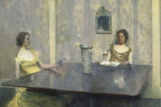 Thomas Dewing A Reading