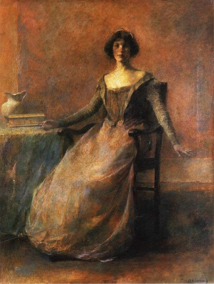 Thomas Dewing Pandora