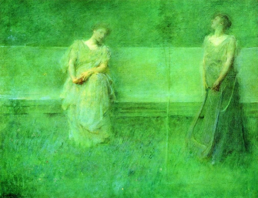Thomas Dewing The Song