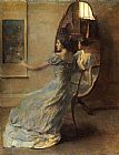 Thomas Dewing Before the Mirror painting
