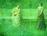 Thomas Dewing The Song painting