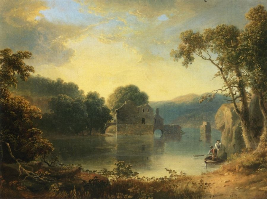 Thomas Doughty Ruins in a Landscape