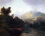 Thomas Doughty A Lake in the White Mountains painting