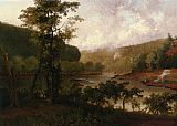 Thomas Doughty Harper's Ferry, Virginia painting