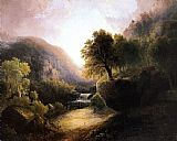 Thomas Doughty River Landscape painting