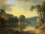 Thomas Doughty Ruins in a Landscape painting
